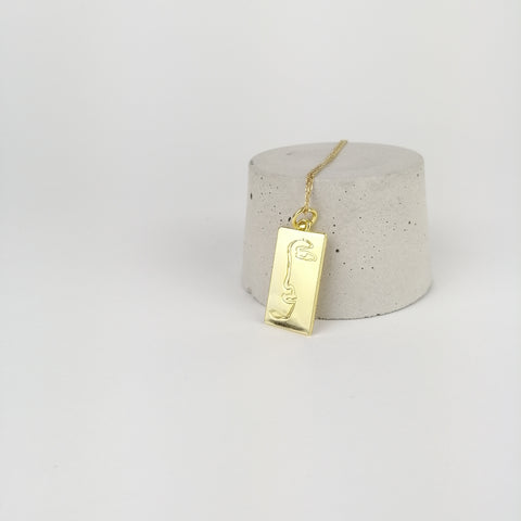 'in one piece' Pendant Necklace - By James Wilson