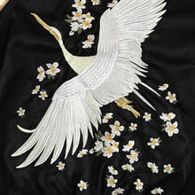 Load image into Gallery viewer, Floral Wings Jacket - Black Gold