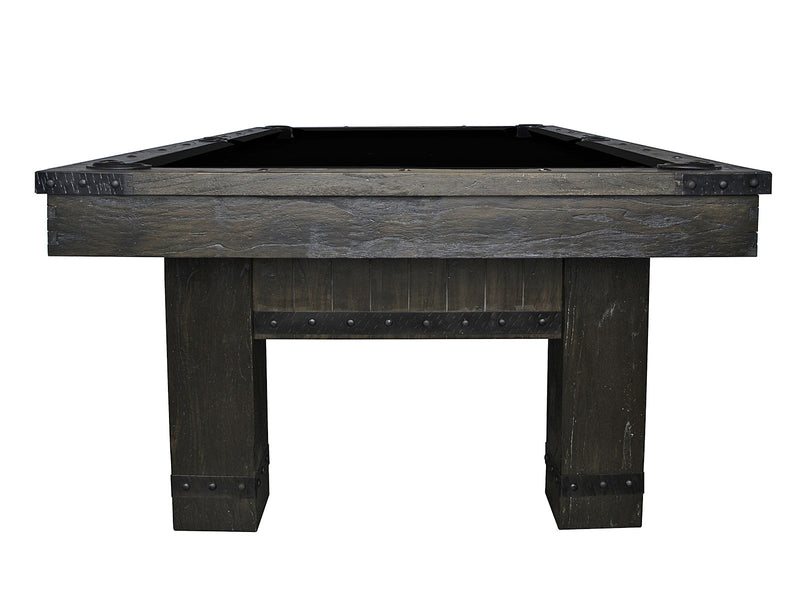 morse pool table grey end stock