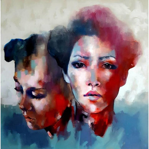 "Thomas Donaldson - ""Double Head Study"""