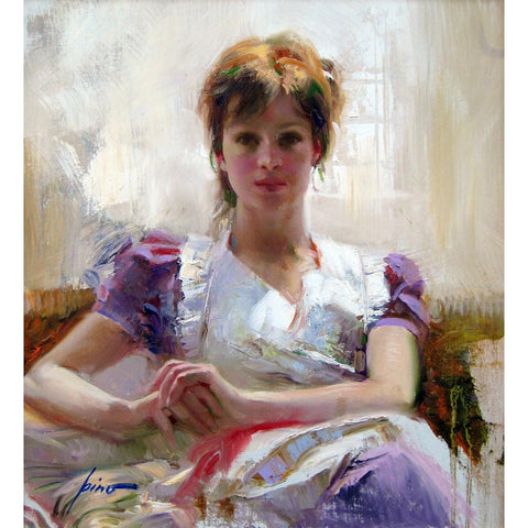 "Pino Daeni - ""Under the Veranda"""