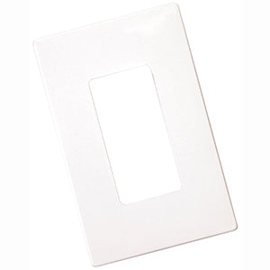 Cooper 1-Gang Decorator Screwless Wallplate, 20pk