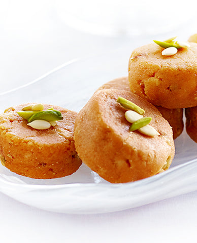 Pinni | Urad Black Gram Barfi | Pulses Fudge
