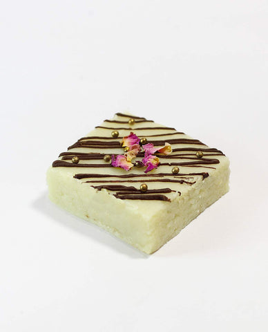 Buy Gift Sweets Online India | Chocolate Rose Fudge Barfi