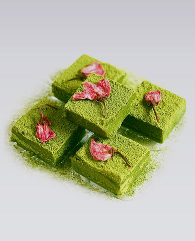 Matcha Green Fudge | Barfi