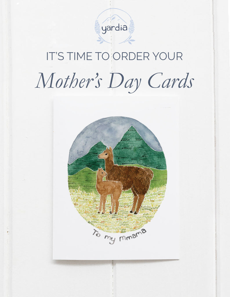 It's time to order your Mother's Day cards