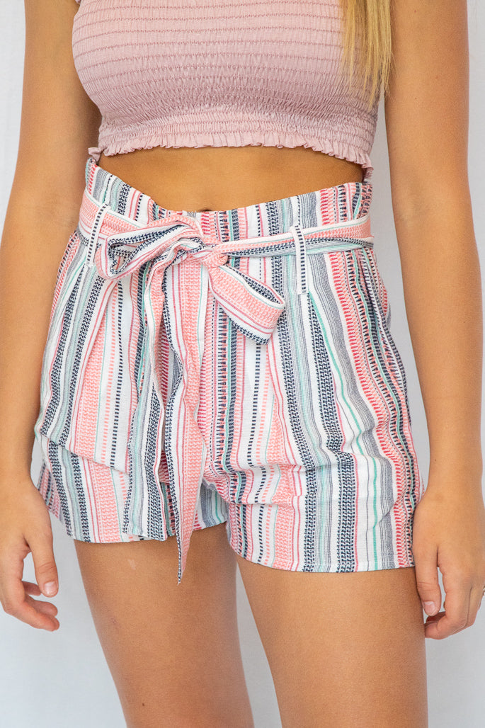Bahama Breeze Tie Shorts