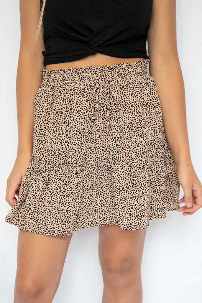 Wild Side Mini Skirt