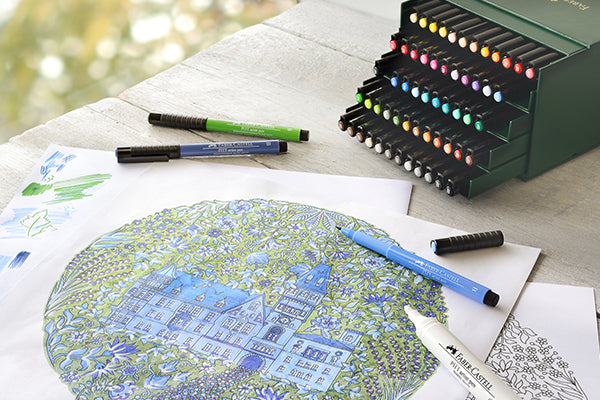 Adult Coloring Intermediate