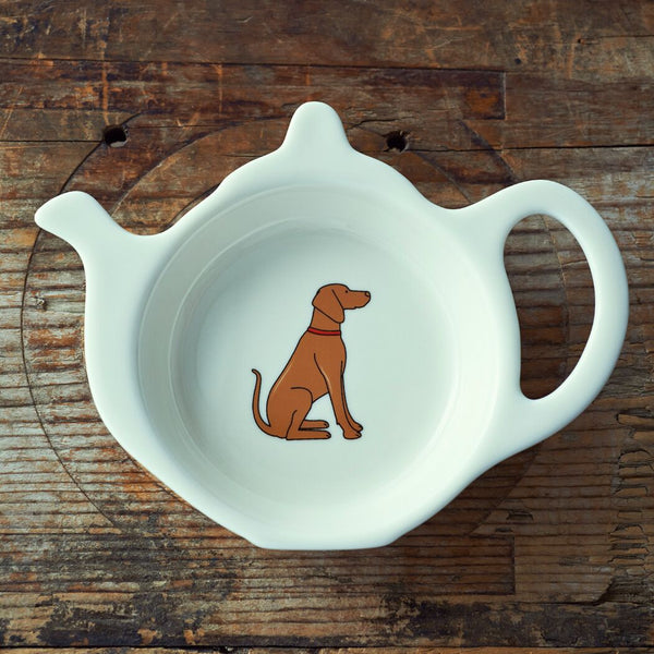Vizsla Tea Bag Dish By Sweet William