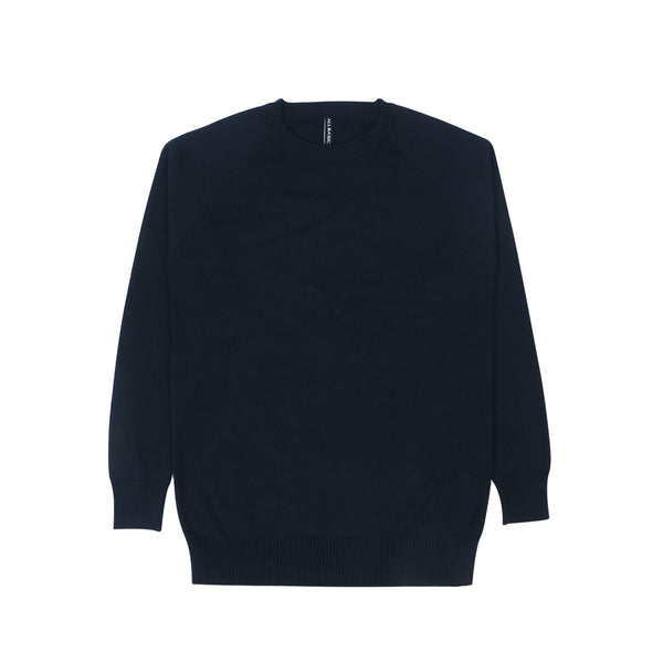 WOMEN KNIT LONG SLEEVE - NAVY