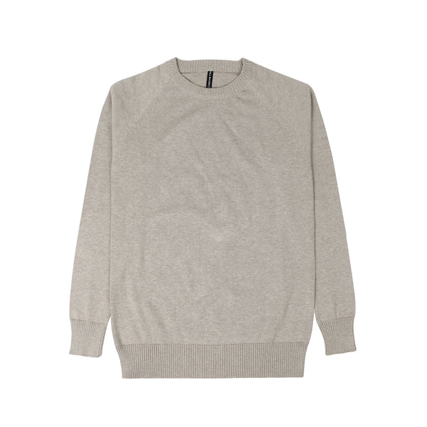 WOMEN KNIT LONG SLEEVE - KHAKI