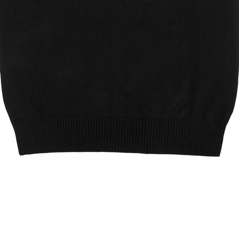 WOMEN KNIT TURTLENECK - BLACK