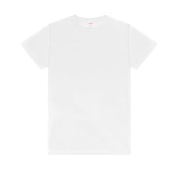 Cotton Bamboo Tees - White