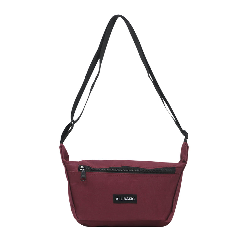 BASIC SLING BAG - MAROON