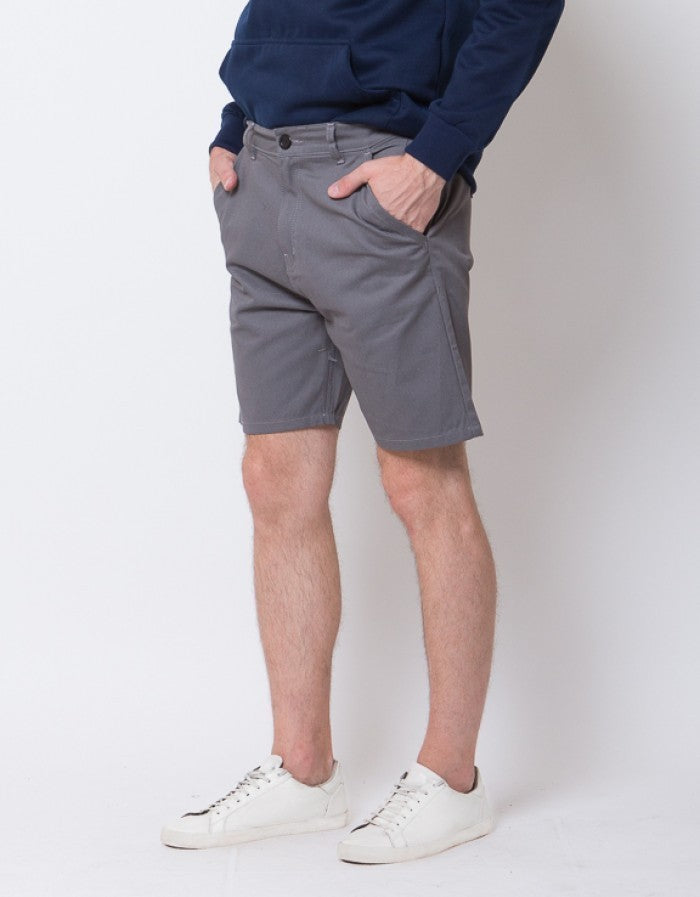 SHORT CHINOS PANTS - GREY