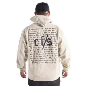CF Student's Hoodie in Sand