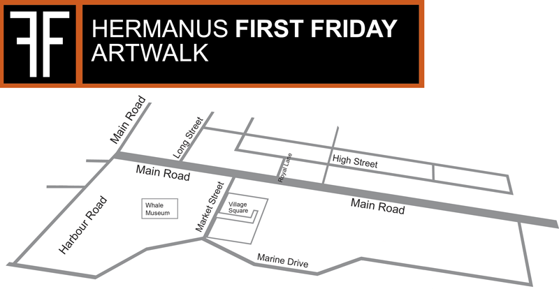 First Friday Hermanus Art walk