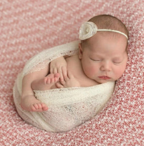 Baby swaddle photography prop
