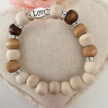 Load image into Gallery viewer, Powered by Love Bracelets 20cm