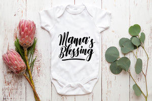 Mamma's Blessing baby vest