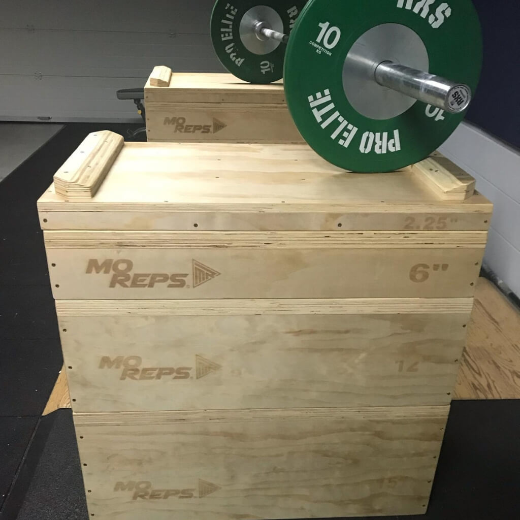 Wooden Jerk Blocks Set