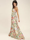 Pretty Bohemia Floral Halterneck Maxi Dress