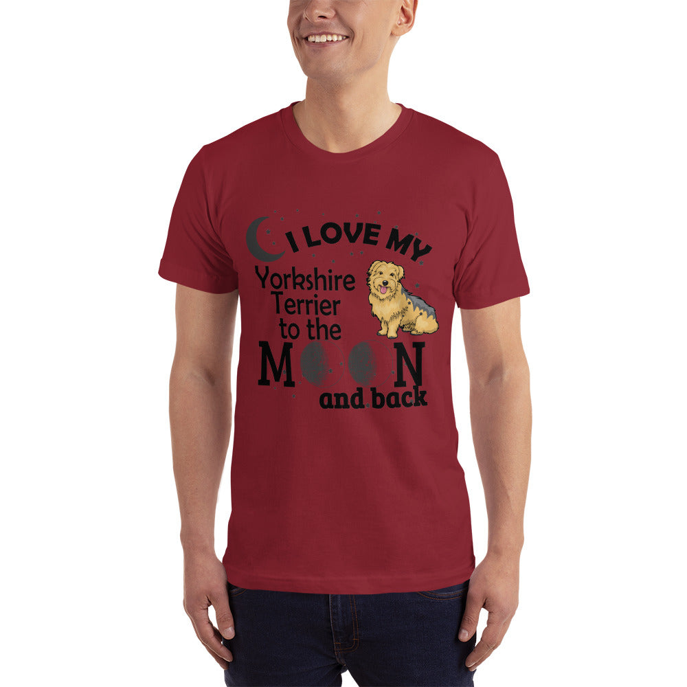 Love my Yorkshire Terrier - Dogs Lover T-Shirt