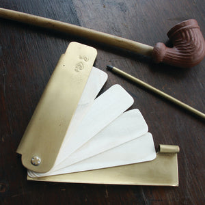 Large Brass Pocket Notebook   BP-966