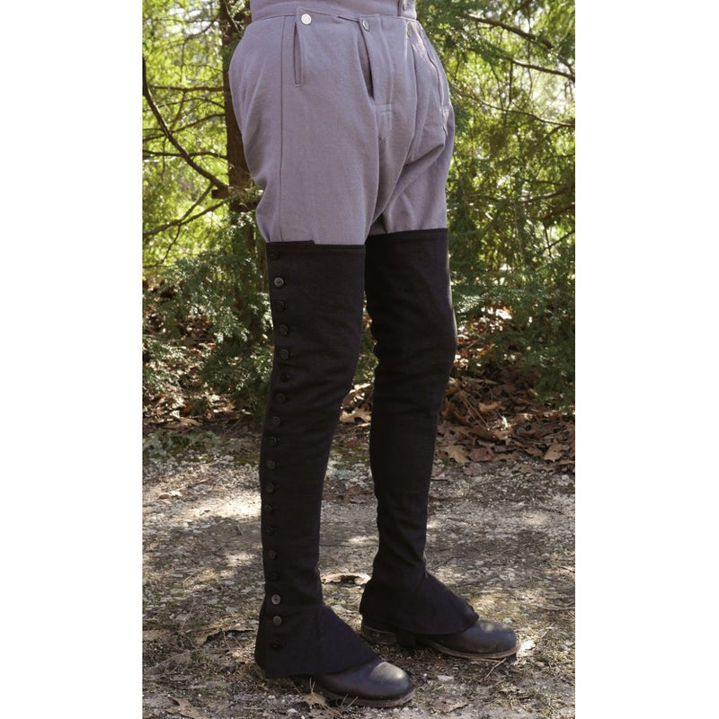 Extra-Long Gaiters Kit (Black) - GA-988