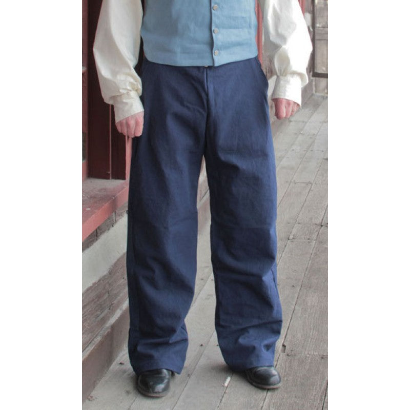 1820 Trousers in Canvas   PC-139