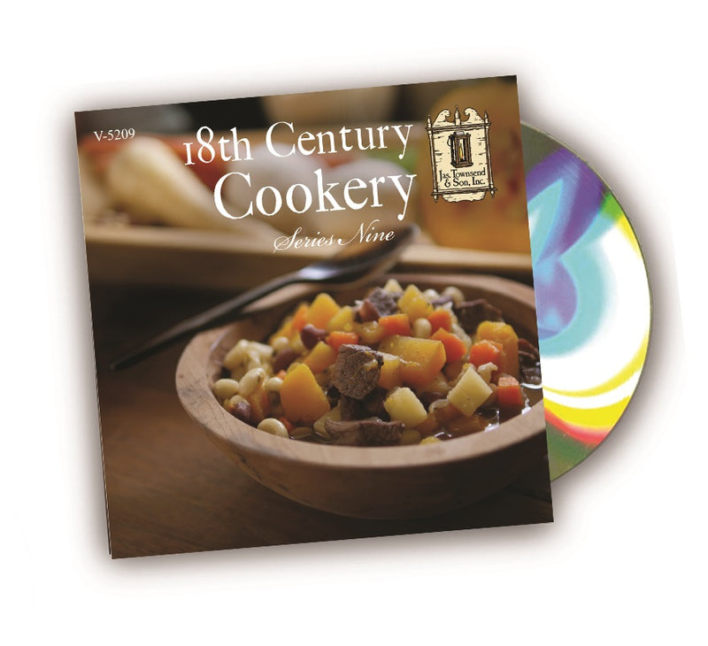 18th Century Cookery DVD Series 9  V-5009