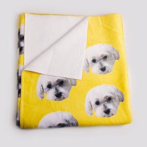 Custom Pet Beach Towels