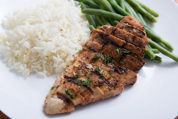 Chicken, Rice & Asparagus