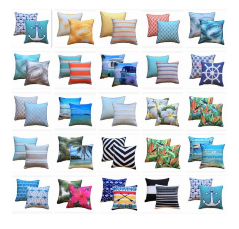 Mix and Match Outdoor Cushions