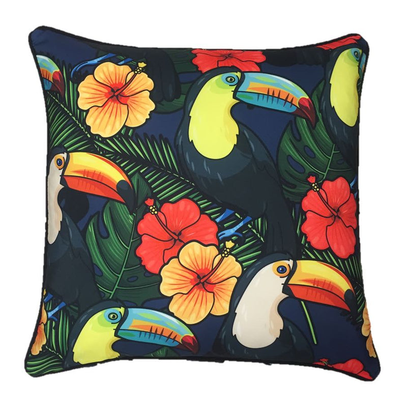 Toucans Outdoor Cushion Cover 45 x 45cm