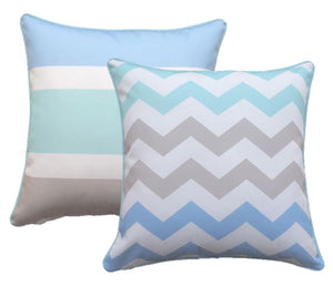 Trio Mint Outdoor Cushion Cover 60 x 60cm