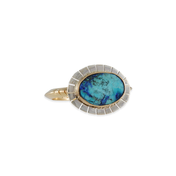 Young in the Mountains - Azurite Equinox Ring