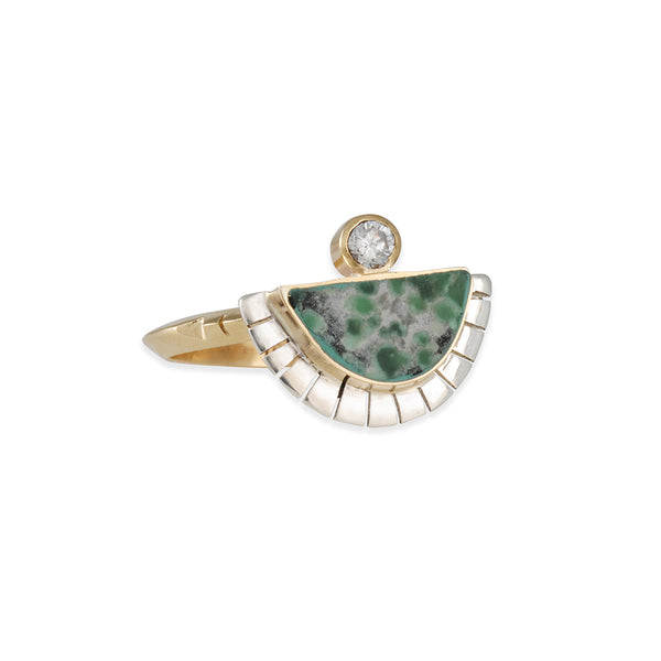 Young in the Mountains - Variscite Solstice Ring