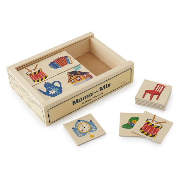 Childhood Objects Memory Game