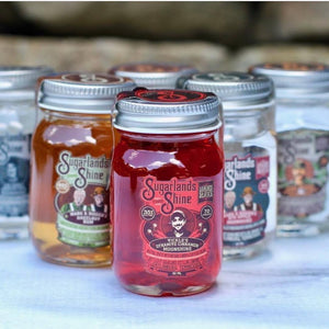 Sugarlands Moonshine 3 Mini Jar Gift Set  - CaskCartel.com