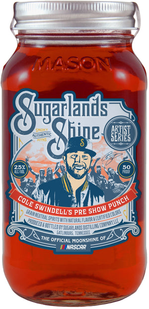 Cole Swindell's Pre Show Punch Sugarlands Shine Moonshine - CaskCartel.com