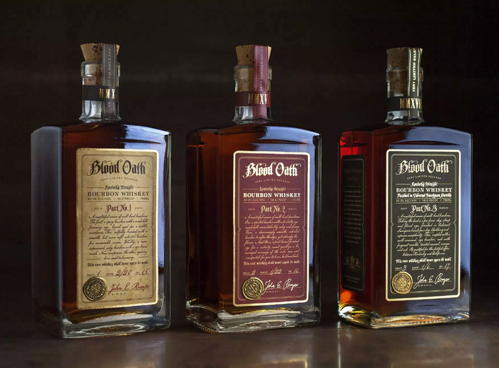 Blood Oath Trilogy Set - Pact No. 1 Pact No. 2 and Pact No.3 Whiskey
