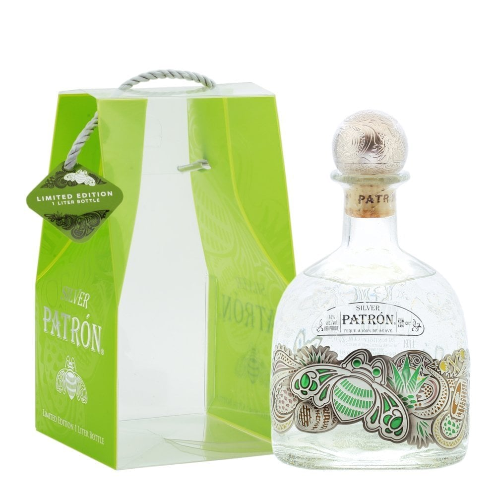 Patron Silver Tequila Limited Edition W/Bag - CaskCartel.com