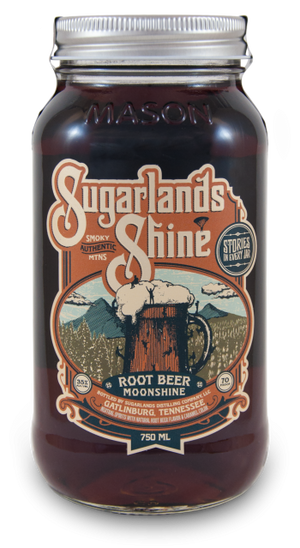 Sugarlands Shine Root Beer Moonshine - CaskCartel.com