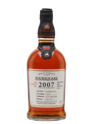 "Foursquare ""Mark X"" 2007 Single Blended Rum - CaskCartel.com"