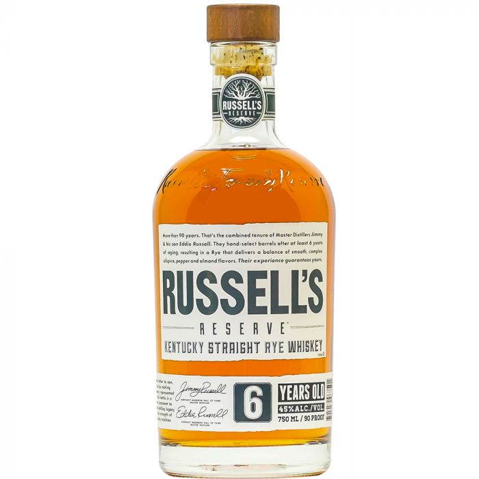 Russel's Reserve 6 Year Kentucky Straight Rye Whiskey