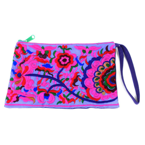 Groovy Grab n' Go Clutch - Purple