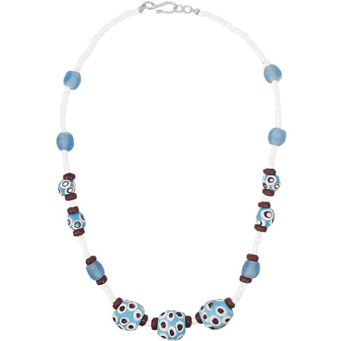 Grace Necklace in Blue