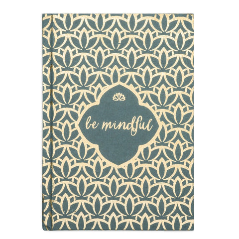 Metallic Message Journal - Be Mindful